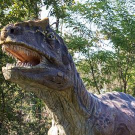 tirannosaurus rex by Pietro Ebner - City,  Street & Park  City Parks ( preistoria, rex, dinosauro, dinosaur, prehistory, tyrannosaurus,  )