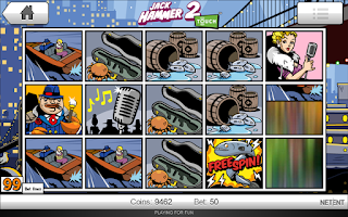 Screenshot of JackHammer Slot Machine Pokies
