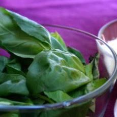 Pesto Recipe with Blanched Basil