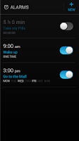 Screenshot of Alarm Clock
