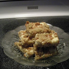 Cream Cheese Apple Oatmeal Bars