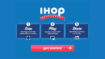Screenshot of IHOP Play
