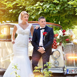 by Cristian Popescu Foto - Wedding Bride & Groom