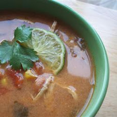 Slow Cooker Tortilla Chicken Soup