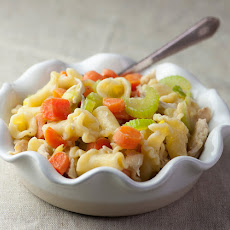 Chicken Pot Pie Pasta