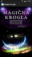 Screenshot of Magična krogla