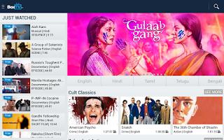 Screenshot of BoxTV Free Bollywood Movies TV