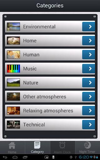Ambient Mixer - screenshot