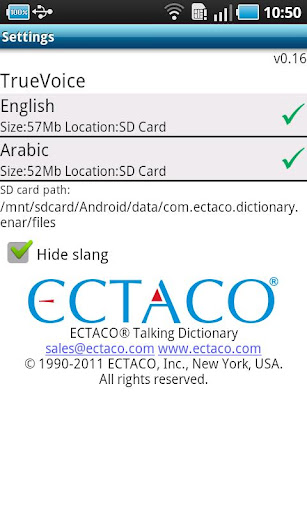 English - Arabic Suite