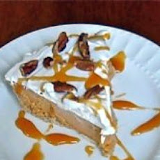 Brandied Pumpkin Ice-Cream Pie with Malted Pecans