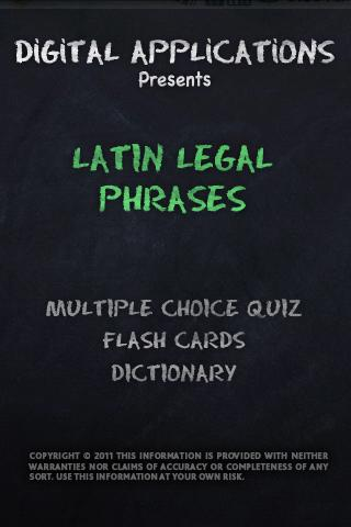 LATIN Legal Terms - Lawyer