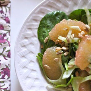 Fennel & Grapefruit Salad with Orange-Cumin Vinaigrette
