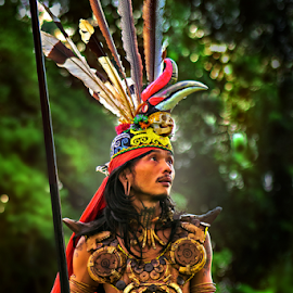 The Dayak by Dany Fachry - People Portraits of Men