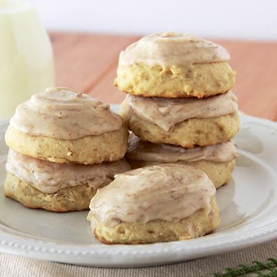 Banana Cookies with Banana Frosting