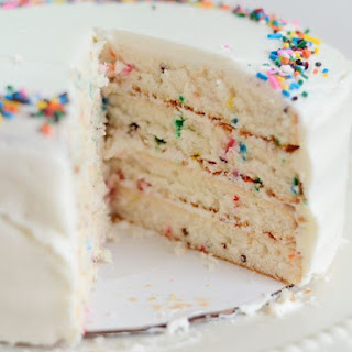Funfetti Cake from Scratch