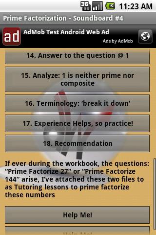 Math Tutoring Lessons 4