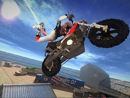Screenshot of Daredevil Stunt Rider 3D