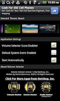 Screenshot of Volume Selector Free