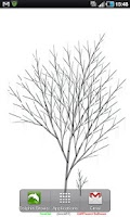 Screenshot of TreeOid Live Wallpaper Tree