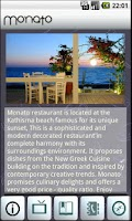 Screenshot of Monato Restaurant