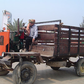 Modified Tractor by Thakkar Mj - Transportation Other ( modified tractor, india, transportation, tractor, goods carriage,  )