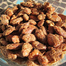 Cinnamon Crusted/Roasted Almonds