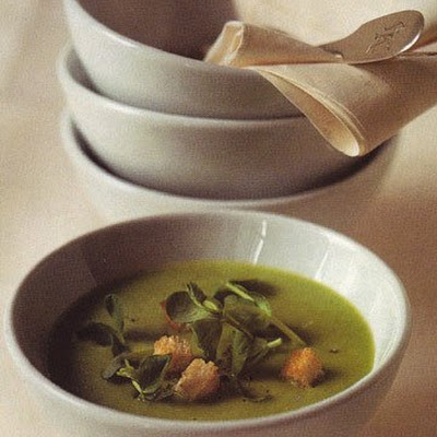 Minted Pea Soup