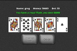 Screenshot of Jacks or Better Free