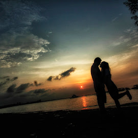 Sunset Silhouete by Oxburn Phsycho - Wedding Other (  )