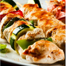 Chicken and Zucchini Skewers