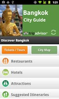 Screenshot of Bangkok City Guide