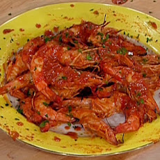 Grilled Shrimp with Homemade Barbecue Sauce