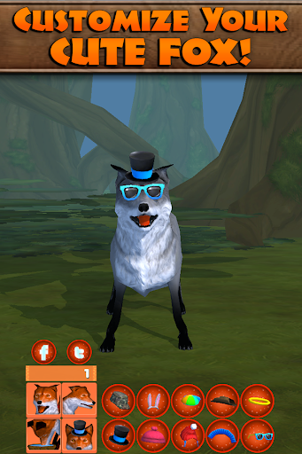 Virtual Pet Fox - screenshot