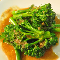 Broccolini With Balsamic Vinaigrette