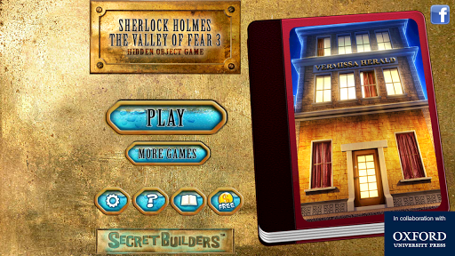 Hidden Object Valley of Fear 3 - screenshot