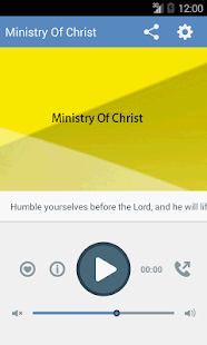 Ministry of Christ - screenshot