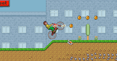 Screenshot of Mountain Bike Boy - Race Game