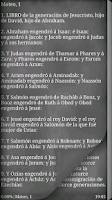 Screenshot of Santa Biblia. Nuevo Testamento