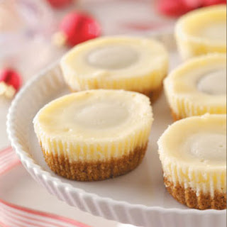 Miniature Peanut Butter Cheesecakes