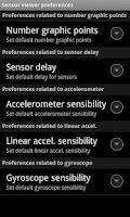 Screenshot of Sensor viewer L