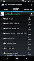 Screenshot of RADIO Lite
