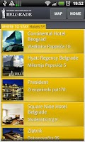 Screenshot of Belgrade City Guide LITE