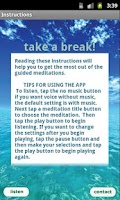 Screenshot of Free Meditation - Take a Break