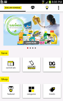 Screenshot of Dollar General