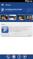 Screenshot of Harrington Park School Dist