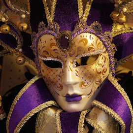 Venice Mask by David Cummings - Artistic Objects Clothing & Accessories ( ball, masquerade, venice, mask, italy )
