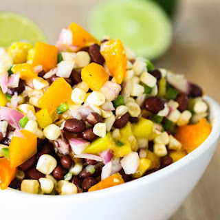Black Bean, Sweet Corn & Mango Salad