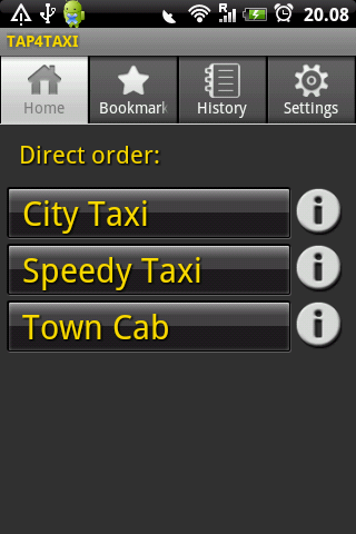 TAP4TAXI