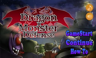 Screenshot of Dragon Monster Defense Games
