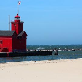 Big Red by Rhonda Mullen - Landscapes Travel